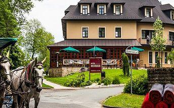 3 denní RELAX/ BALNEO pobyt pro dva s wellness v Mariánských Lázních s platností do 30.4.2015
