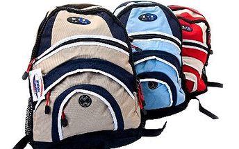 Nepromokavý batoh pro školáky s vyztuženými zády: 5 barev