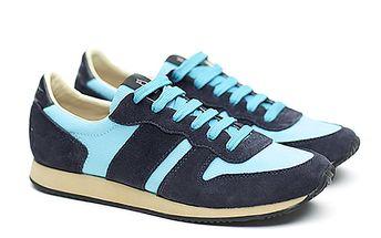 Dámské modro-tyrkysové sportovní tenisky Shoe the Bear