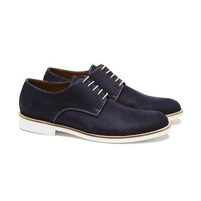 Pánské temně modré polobotky Shoe the Bear