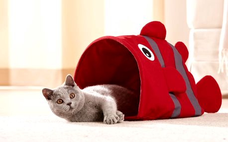Pytlík na hraní pro kočky