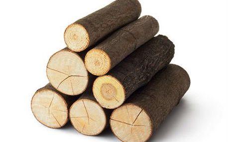 Dřevo do krbu: Střední balení tvrdého dřeva se slevou