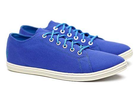 Pánské nízké modré tenisky Shoe the Bear