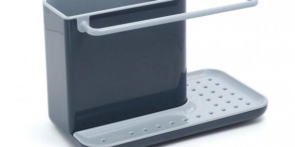 Kuchyňský stojánek na mycí prostředky, šedý