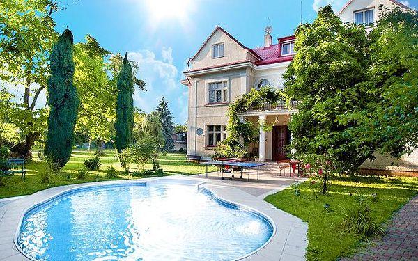 Dovolená pro 2 osoby se snídaní nebo polopenzí v pražském hotelu Marie-Luisa***
