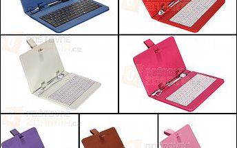 Pouzdro na tablet s USB klávesnicí pro 7″ tablety - více barev a poštovné ZDARMA! - 23405684