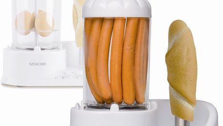 Snadná a rychlá výroba párku v rohlíku s Hot dog SENCOR SHM 4210