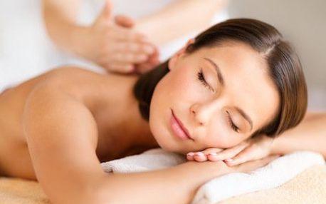 Hloubková masáž svalů zad a šíje nebo celého těla!