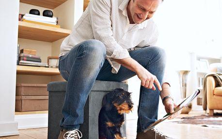Pelíšek na spaní pro psy nebo kočky