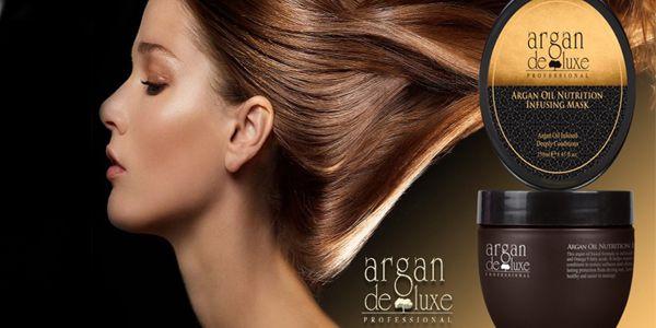Nyní s 50% slevou arganový vyziva pro vlasy (250 ml)