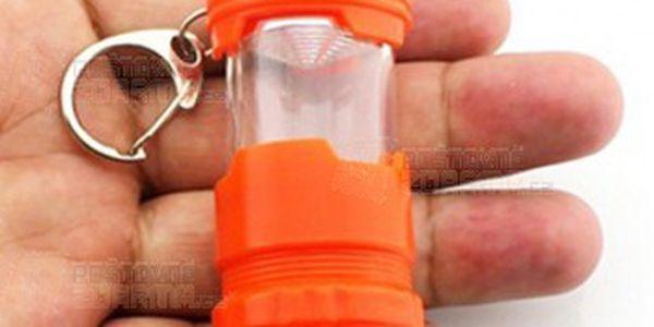 LED klíčenka se svítilnou ve tvaru lucerny - 3 barvy a poštovné ZDARMA! - 23412506