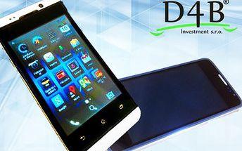 Elegantní smartphone Elitronics W8 mini edition s Androidem