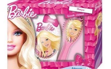 Barbie dárková sada - Šampón 250ml+hřeben