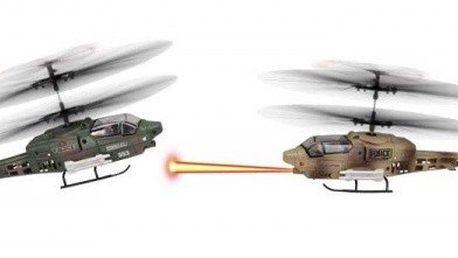 FLEG tříkánálový vrtulník na dálkové ovládání s GYROSKOPEM - 2 vrtulníky, které se mohou sestřelovat 8595142712987