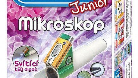 Boffin Junior stavebnice funkční mikroskopp, který zvětšuje až 40x - pro venkovní použití 8595142713281