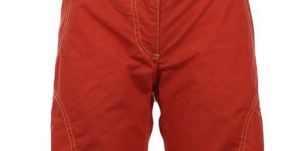 Dámské oranžovočervené šortky Hannah