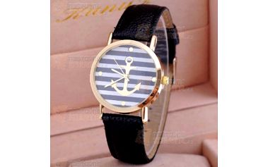 Dámské hodinky v námořnickém stylu a poštovné ZDARMA! - 23912582