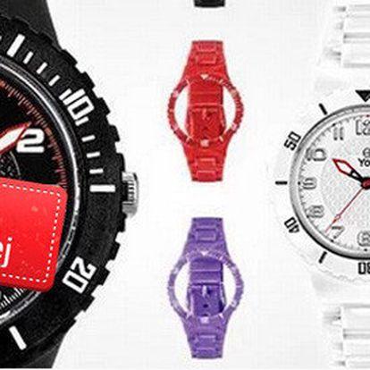 Designové hodinky YOT + 4 náramky na výměnu