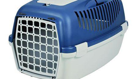 Trixie transportní box CAPRI II. šedo modrý pro psy, kočky a malá zvířata