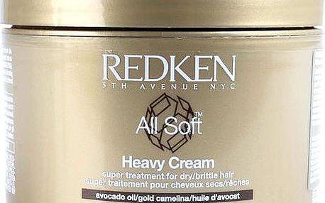 Redken All Soft Heavy Cream 250ml Regenerace - Ochrana W Pro suché a křehké vlasy