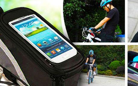 Voděodolné pouzdro na kolo: na brýle, telefon a další věci. Poštovné zdarma!