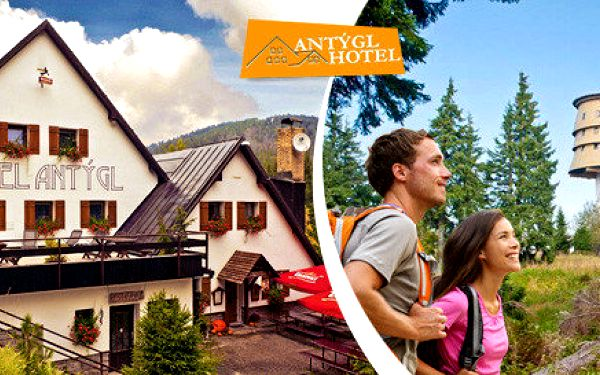 Podzimní pohoda v rodinném hotelu na Šumavě