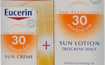 EUCERIN SUN 1+1ZDARM.hydr.ml.SPF30+kr.obličejSPF30