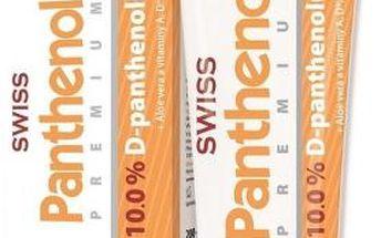 Panthenol 10% Swiss PREMIUM těl.mléko 200+50ml Zdarma