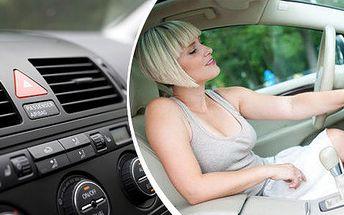 Kontrola a plnění klimatizace s prohlídkou vozu jako bonusem
