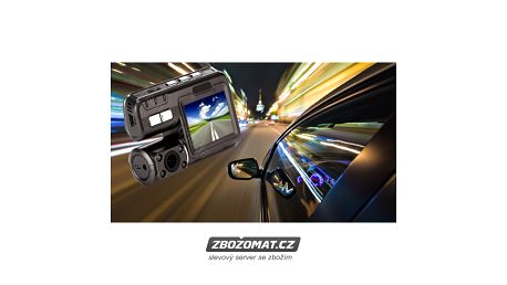 Autokamera Xcam DVR CDVR720 - piráti silnic nemají šanci!