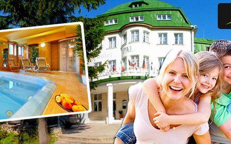 3-6 dní ve Špindlu s all inclusive či polopenzí pro rodinu