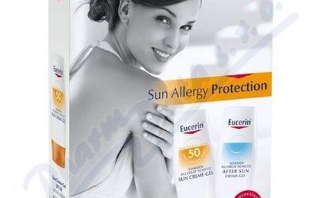 EUCERIN SUN Gel opalování proti sluneční alergii SPF50 + gel po opalování
