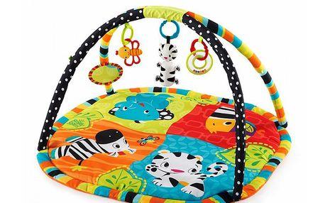 Deka na hraní s hrazdou a hračkami Zoo Tails™ (0 m+)
