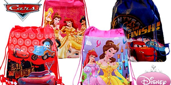 Sáček na přezůvky s motivy Disney a Cars s doručením zdarma