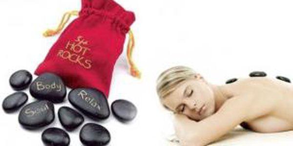 Lávové kameny - dopřejte si masáž