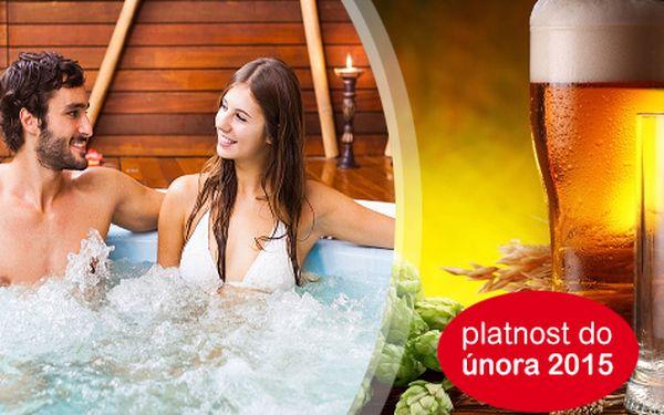 Pobyt pro DVA v PIVNÍCH LÁZNÍCH PODĚBRADY s koupelí a gastronomickým zážitkem