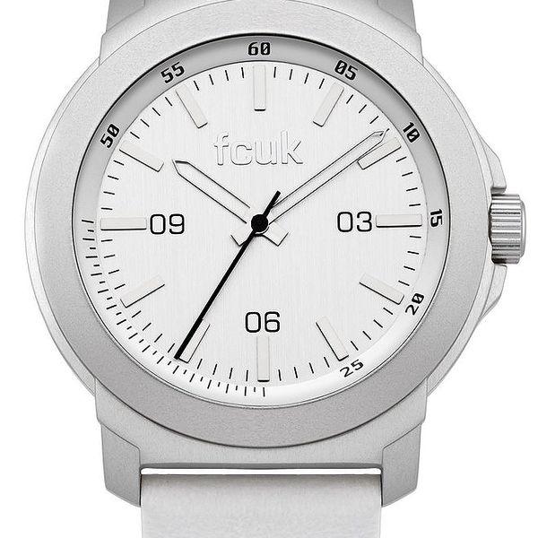 Pánské bílé hodinky FCUK Gents