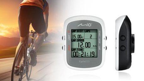 Cyklopočítač Mio Cyclo 100 pro měření vašich výkonů na kole!