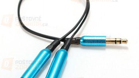 Rozdvojka pro 3,5 mm sluchátkový konektor - 4 barevné provedení a poštovné ZDARMA! - 23912638