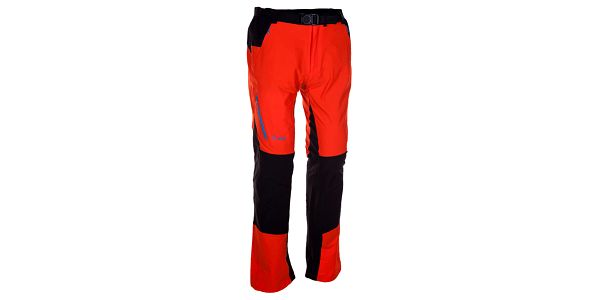 Pánské oranžovo-černé kalhoty Kilpi