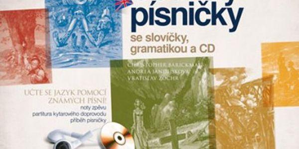 Country písničky se slovíčky, gramatikou a CD učte se jazyk pomocí známých písní!