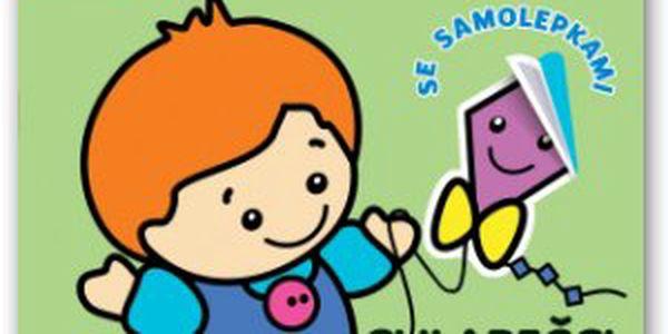 Pro nejmenší – chlapečci Kniha pro nejmenší malíře od 2 do 3 let. Hravou formou si procvičí ruku při jednoduchém domalování a zjistí svou šikovnost při nalepování samolepek.