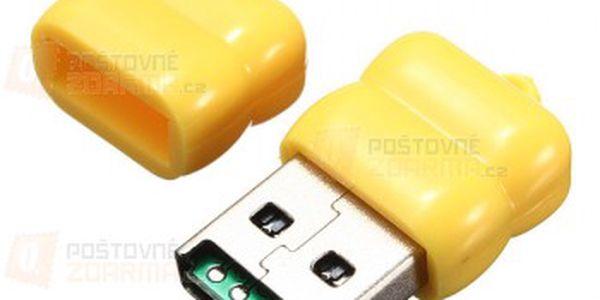USB čtečka microSD paměťových karet - 3 barvy a poštovné ZDARMA! - 24012640