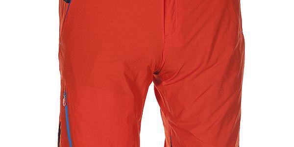 Pánské oranžovo-černé technické šortky Kilpi