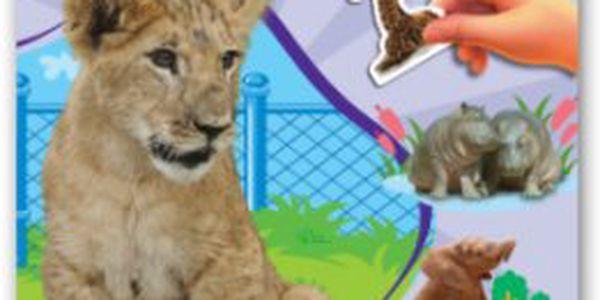 V Zoo - roztomilá mláďátka - kniha se samolepkami