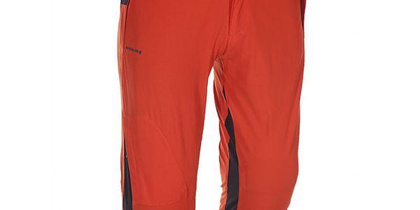 Pánské oranžovo-černé 3/4 kalhoty Kilpi