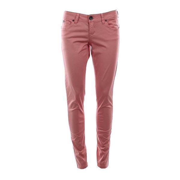 Dámské kalhoty v korálové barvě Timeout