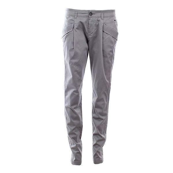 Dámské šedé kalhoty s kapsami Timeout