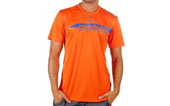 Pánské oranžové tričko s krátkým rukávem Adidas