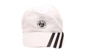Bílo-černá kšiltovka Adidas